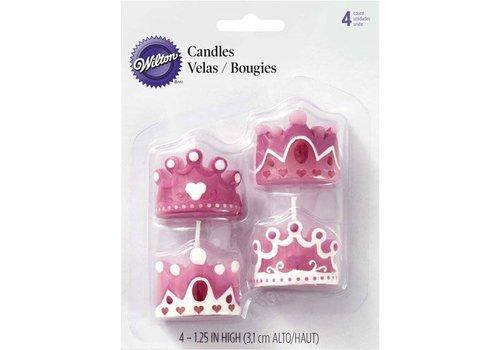 Princess Candles set/4