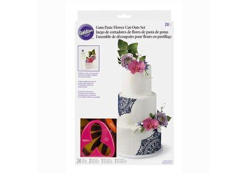 Gum Paste Flower Cutter set/28