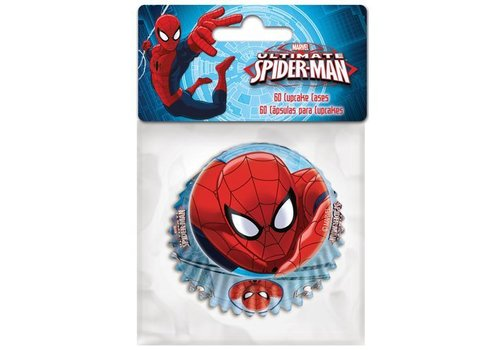 Baking Cups Spiderman pk/60