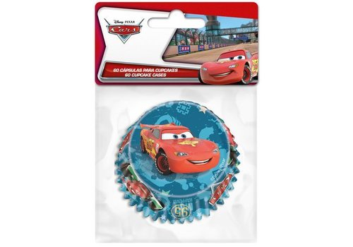 Baking Cups Cars pk/60