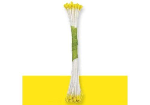 Plain Stamen Fine -Yellow- pk/50