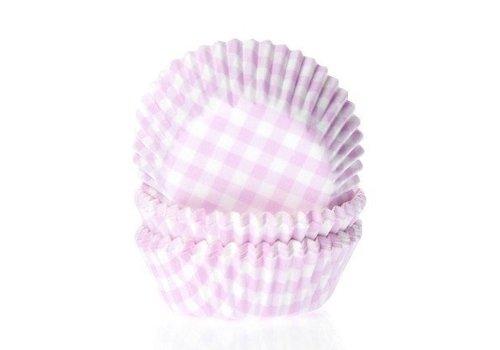 Baking cups Ruit Roze - pk/50