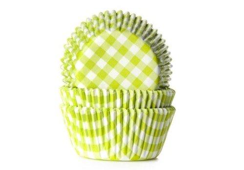 Baking cups Ruit Lime Groen - pk/50