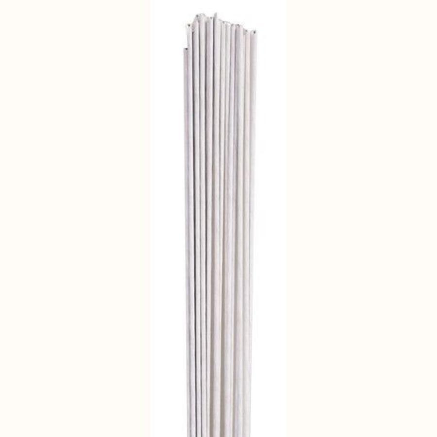 Culpitt Floral Wire White set/20 -18 gauge--1