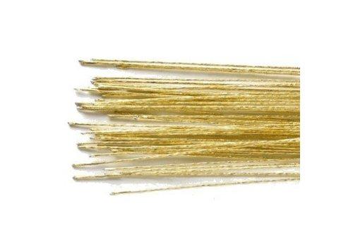 Floral Wire Gold set/50 -24 gauge-