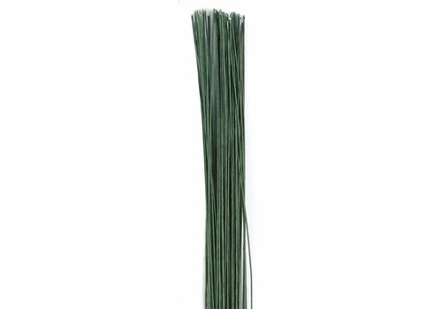Floral Wire Dark Green set/50 -24 gauge-