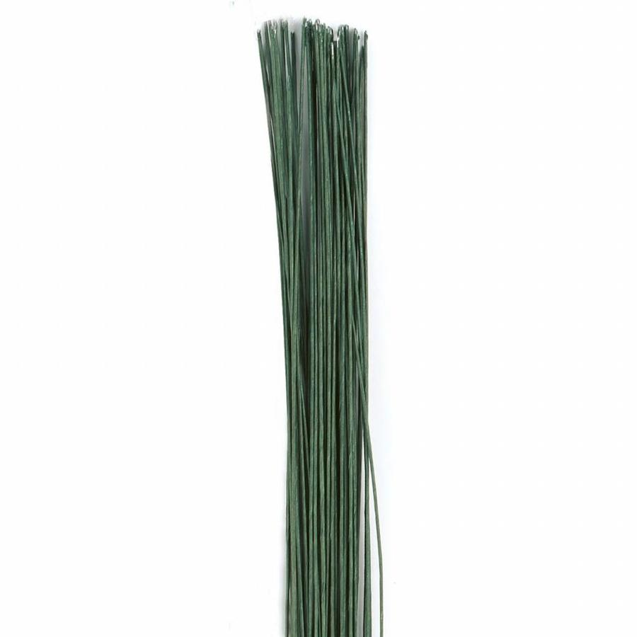 Culpitt Floral Wire Dark Green set/50 -24 gauge--1