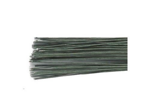 Floral Wire Dark Green set/50 -28 gauge-
