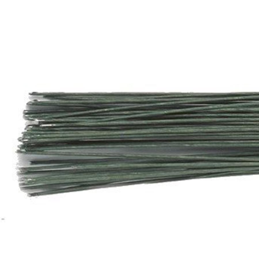 Culpitt Floral Wire Dark Green set/50 -28 gauge--1