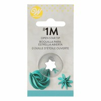 thumb-Wilton Decorating Tip #1M Open Star Carded-1