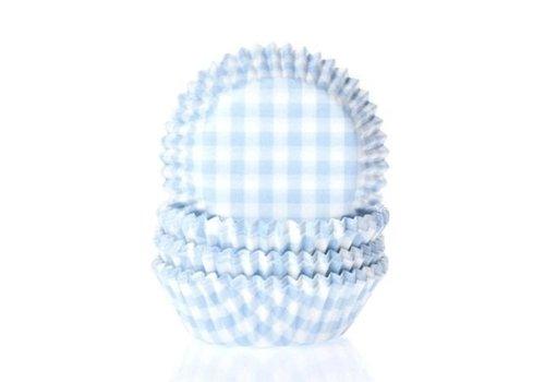 Baking cups Ruit Pastel Blauw - pk/50