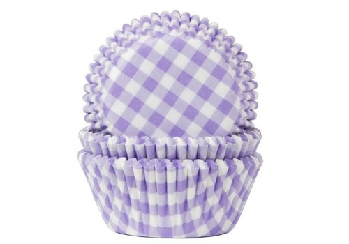 Baking Cups Ruit Lila pk/50