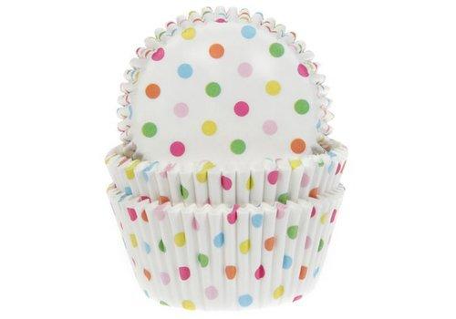 Baking Cups Confetti pk/50