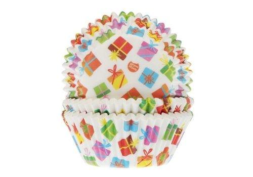Baking Cups Cadeaus pk/50