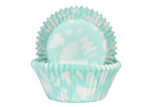 Baking Cups Baby Mint pk/50