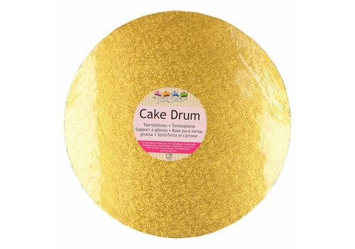 Cake Drum Rond Ø25cm -Goud-