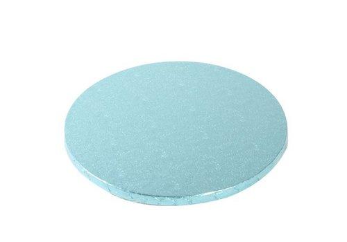 Cake Drum Rond Ø25cm -Baby Blauw-