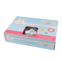 Cake Star Push Easy Shapes Cutters Set/6