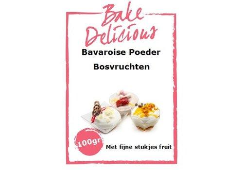 bavarois bosvruchten met stukjes 100 gr