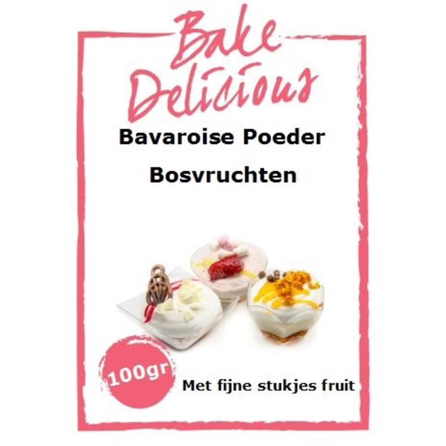 bavaroise bosvruchten met stukjes 100 gr-1