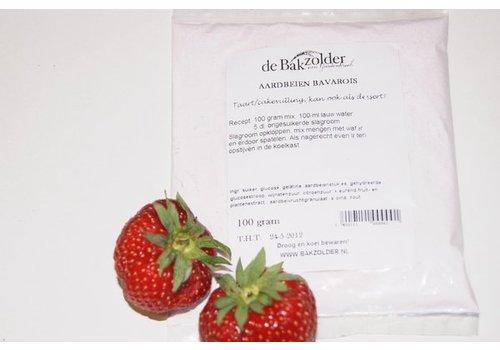 Bakzolder Aardbeien bavarois 100 gram