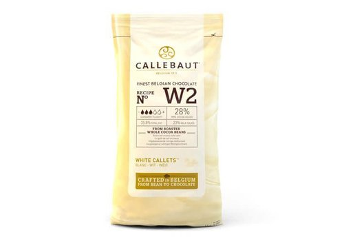 Chocolade Callets -Wit- 1 kg