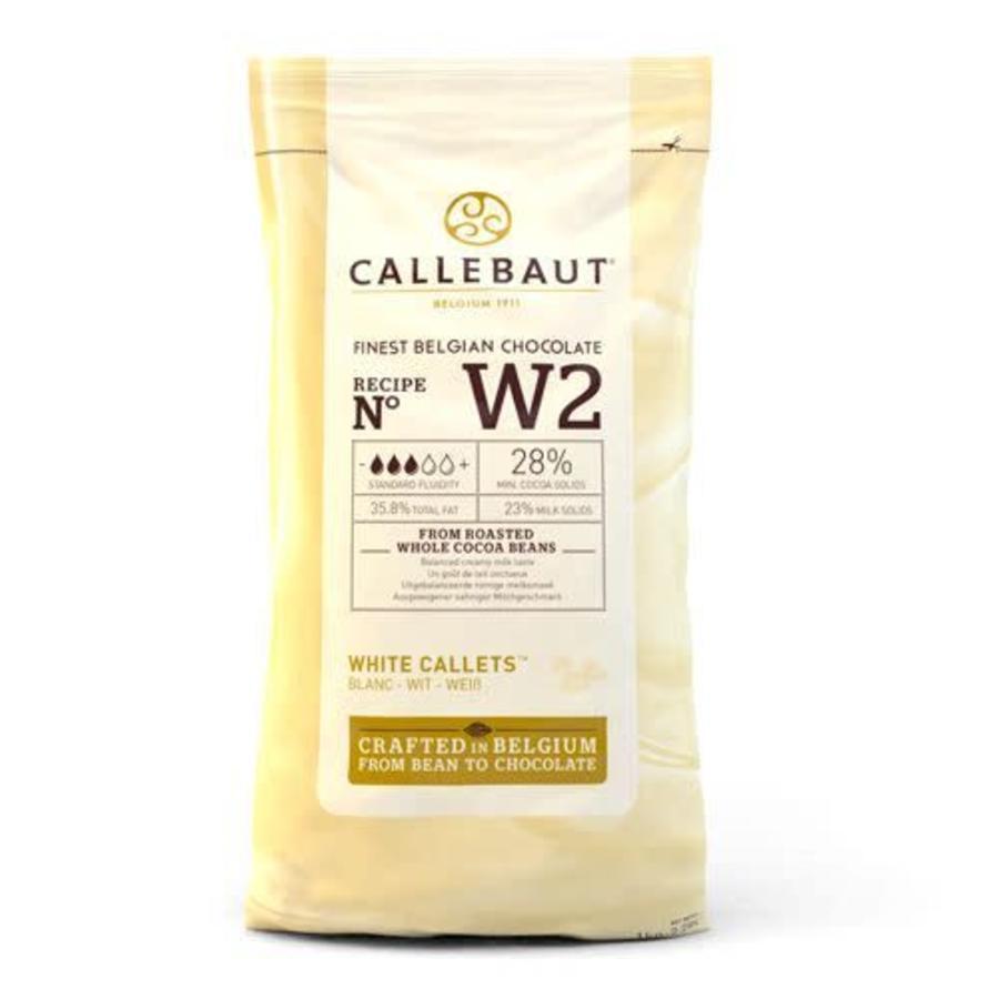 Callebaut Chocolade Callets -Wit- 1 kg-1