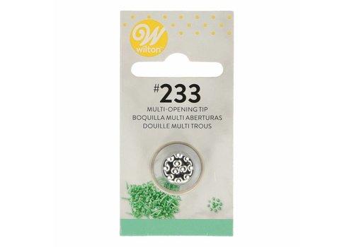 Decorating Tip #233 Multi-open