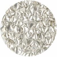 thumb-FunCakes Suikerhartjes Metallic Zilver 80g-2