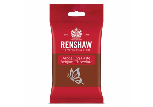 Renshaw Belgian Chocolate Modelling Paste -Milk- 180g