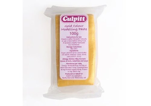 Culpitt Modelling Paste Gold -100g-