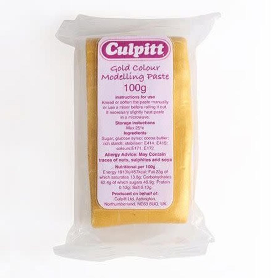 Culpitt Modelling Paste Gold -100g--1