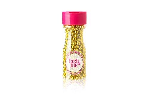Suikerparels metallic goud 6mm