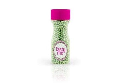 Suikerparels metallic groen 4mm