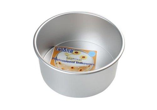 round cake pan 12,5 cm extra hoog 10 cm
