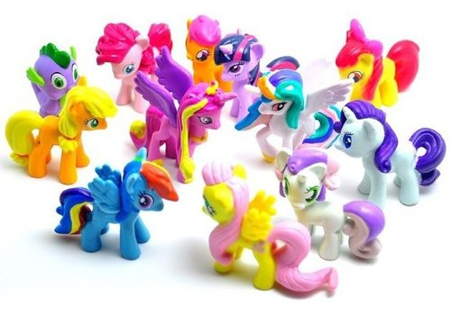 Pony's cake toppers