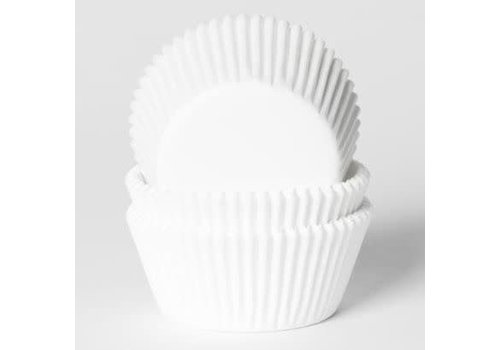 House of Marie Mini Baking Cups Wit pk/60