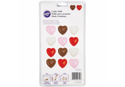 Candy Mold Hearts