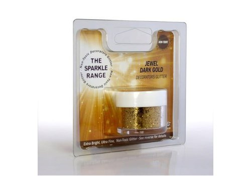 Sparkle range jewel dark gold