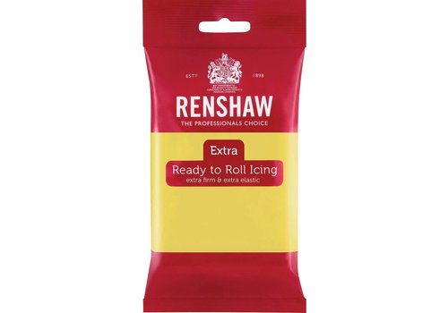 Renshaw extra fondant pastel yellow