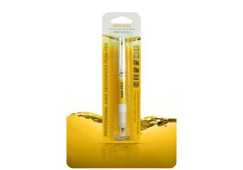 Rd professional double sided food pen dark gold