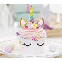 thumb-Eenhoorn cupcake wrappers met prikker-2