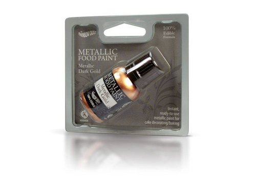 RD Metallic Food paint Metallic Dark Gold 25g