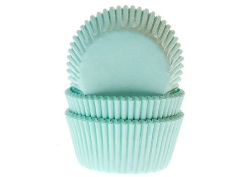 House of Marie baking cups mint green