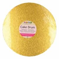 FunCakes Cake Drum Rond Ø30,5cm -Goud-
