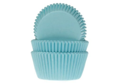 House of Marie Baking Cups turquoise pk/50