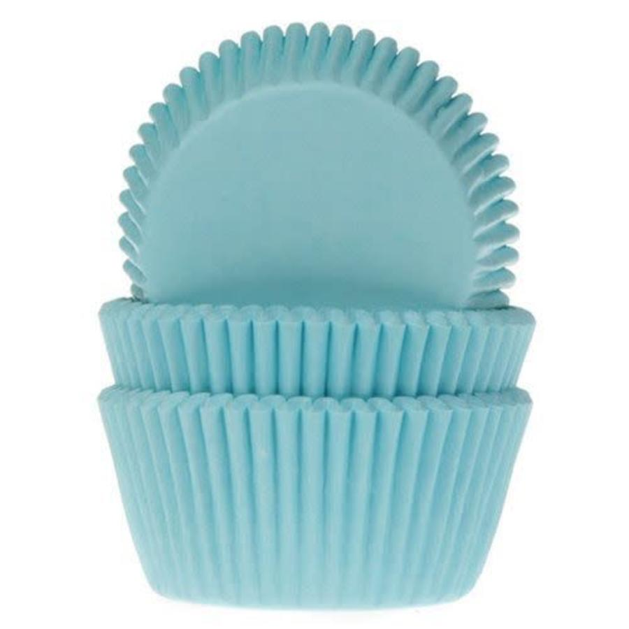 House of Marie Baking Cups turquoise pk/50-1