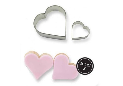 PME Cookie Cutter heart set/2
