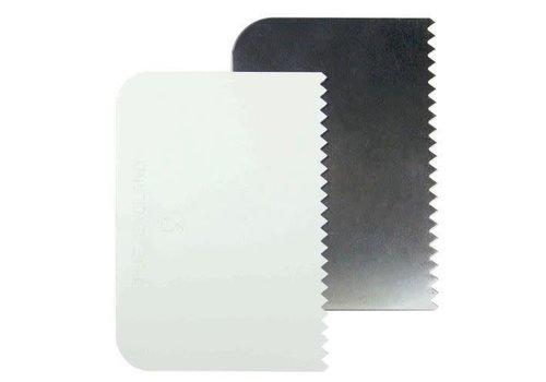 PME Plastic Side Scraper combed