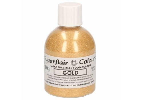 Sugarflair Sugar Sprinkles -goud- 100g
